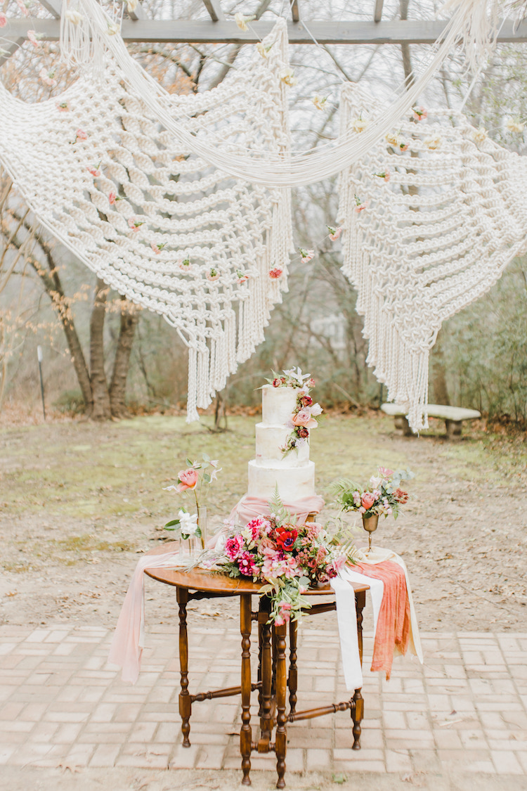 Boho Macrame Wedding Oklahoma
