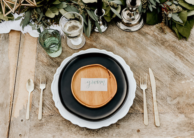 Earthy Geometric Bohemian Wedding Ideas