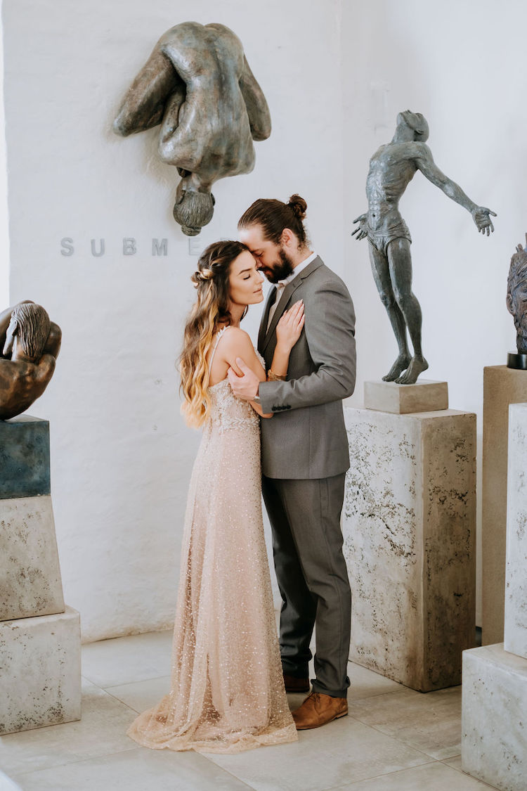 Art Gallery Elopement