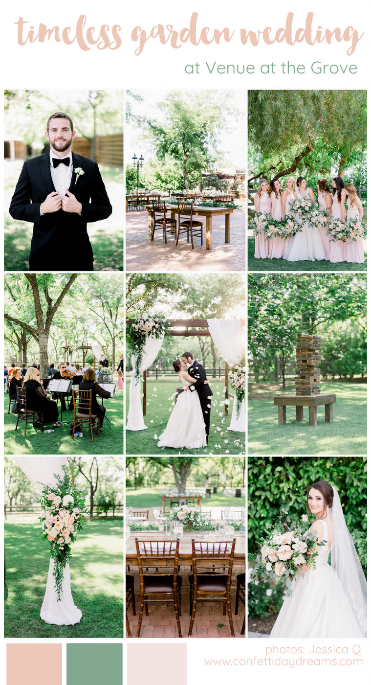 Timeless Garden Wedding in Arizona