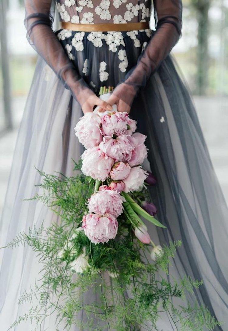 Cascade Peony Bouquet