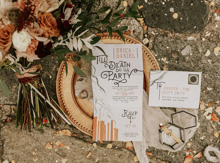 Moody Magic Till Death Do Us Party Wedding