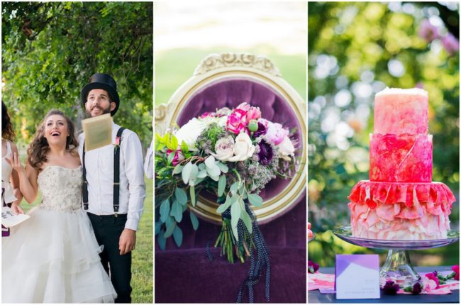 Alice in Wonderland Garden Wedding Ideas