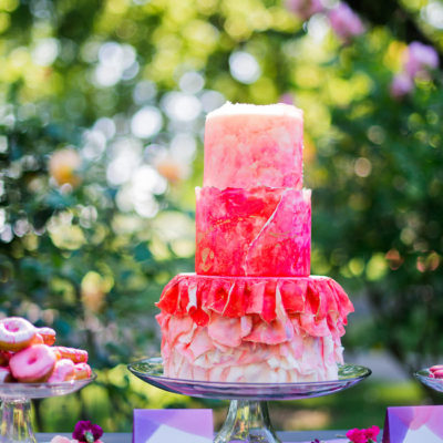 Creative Alice in Wonderland Garden Wedding {Kelly Marie Photography}