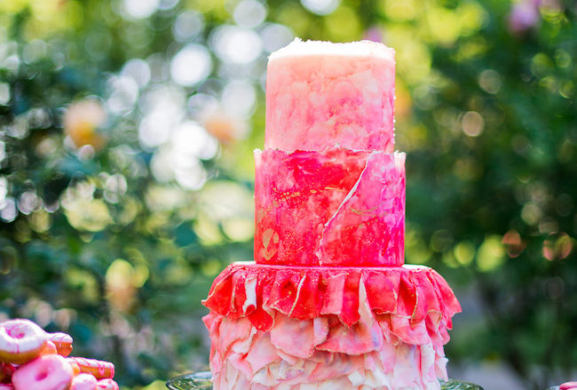 Creative Alice in Wonderland Garden Wedding {Kelly Marie Photography}