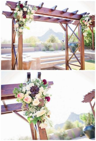 Amazing Wedding Arch Ideas 4