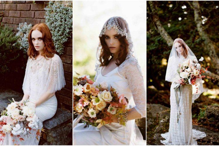 Delicately Autumn Bride Inspiration in the Everglades {Bride La Boheme}