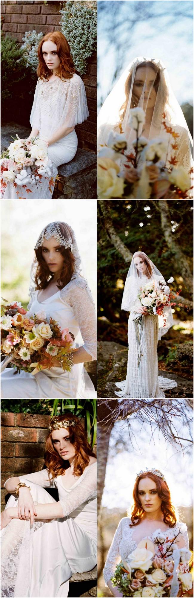 Delicately Divine Autumn Bride Inspiration in the Everglades by Bride La Boheme