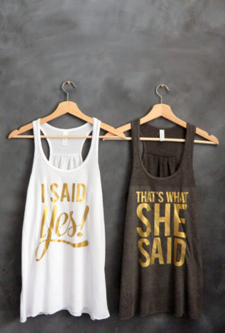 30 Cutest Bridesmaid Shirts And Bridal Party T Around