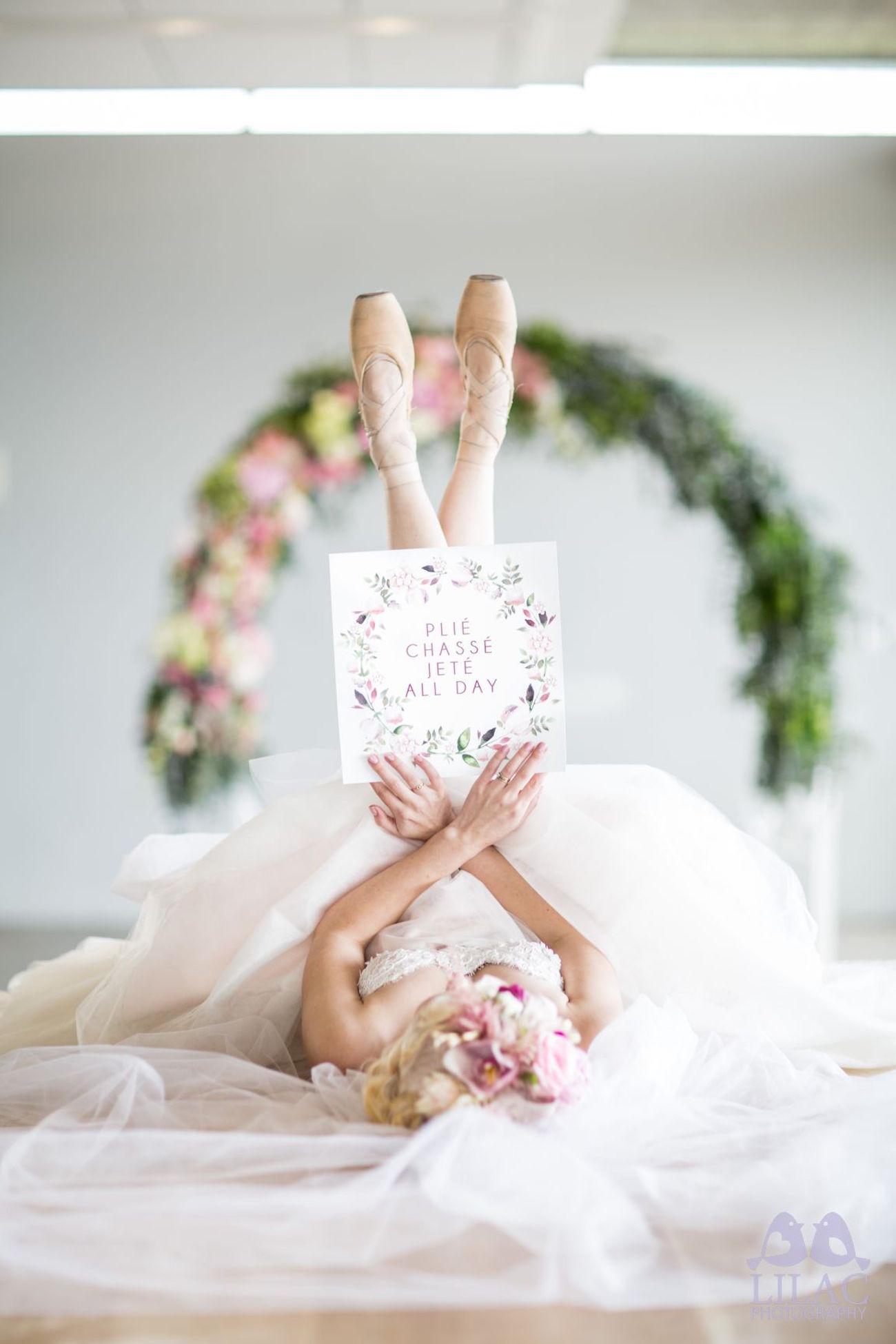 Ballerina Wedding Bride