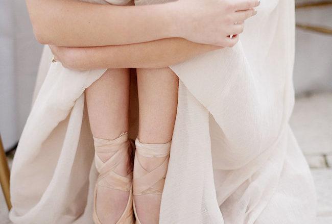 Ethereal Ballerina Wedding: Ballet Bride Style Inspiration {Samantha Clifton Photography}