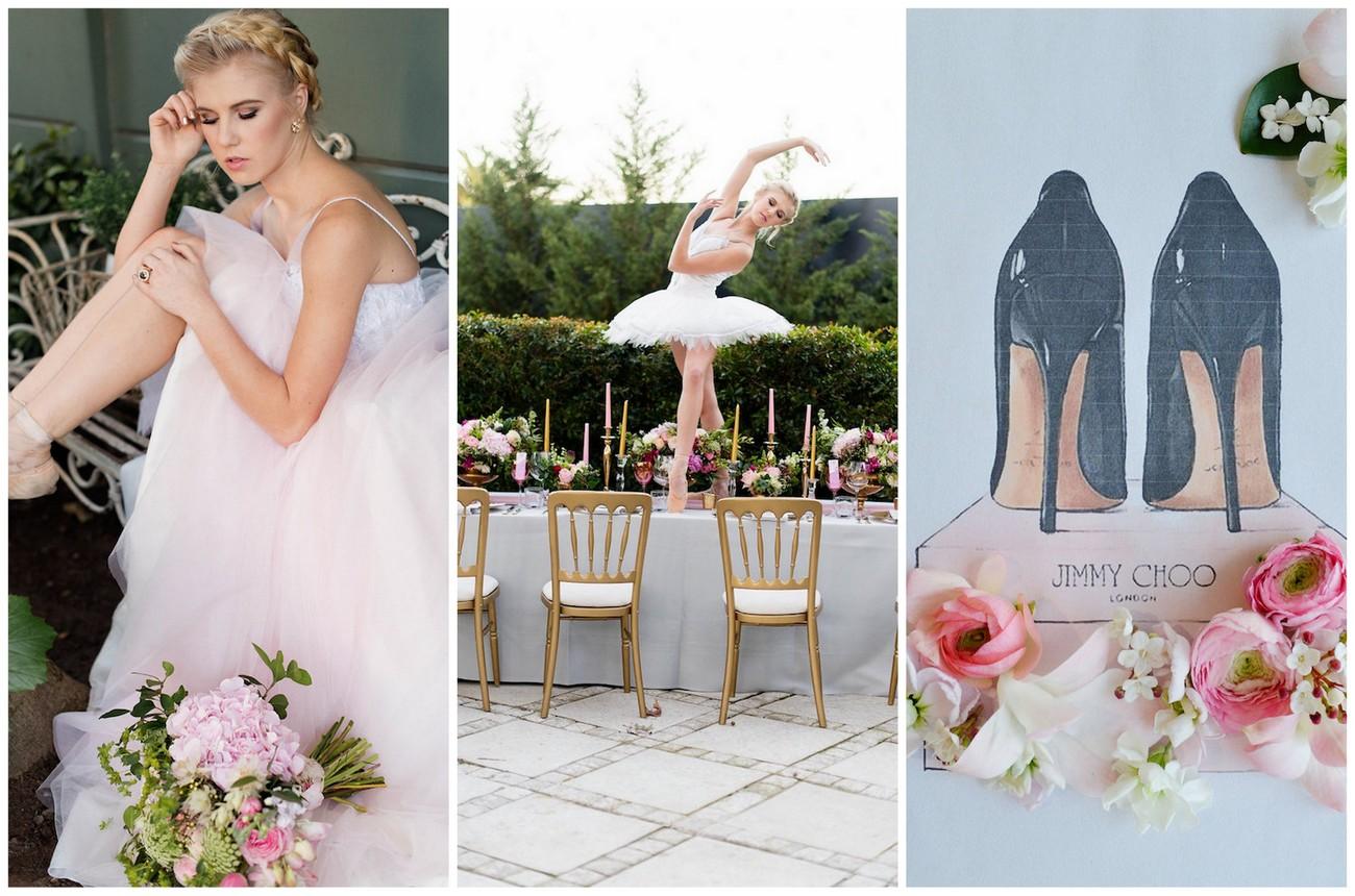 Ballerina Wedding: Ballet Bride Style Inspiration
