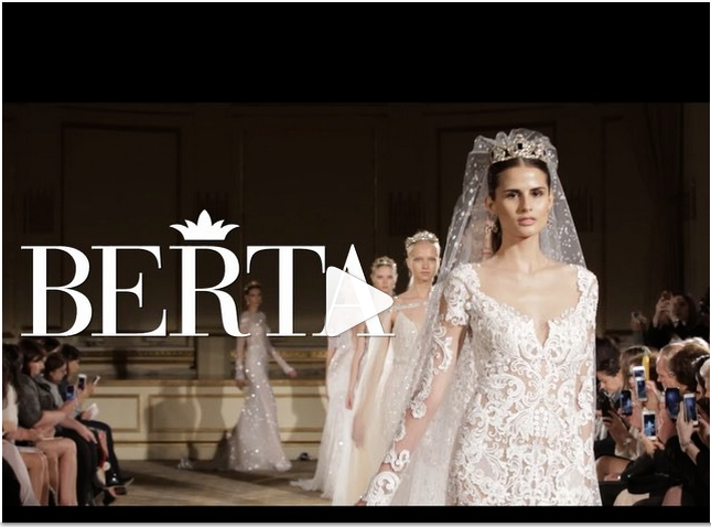 Runway Reveal: BERTA's 2016 Bridal Collection