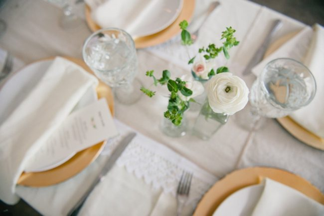 Blush Gold White Outdoor Seattle Wedding 1