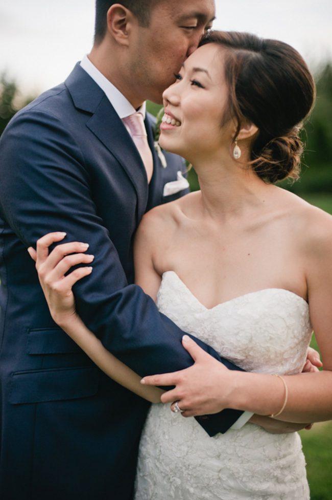 Blush Gold White Outdoor Seattle Wedding 14