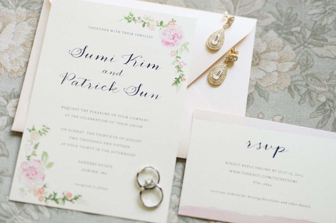 Blush Gold White Outdoor Seattle Wedding 22