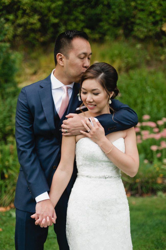Blush Gold White Outdoor Seattle Wedding 29