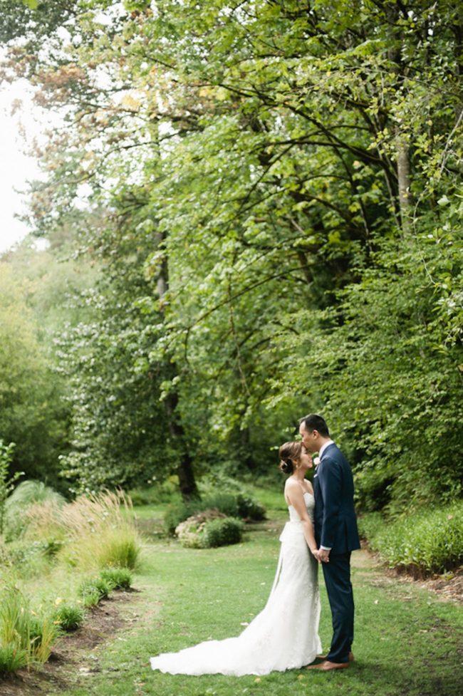 Blush Gold White Outdoor Seattle Wedding 30