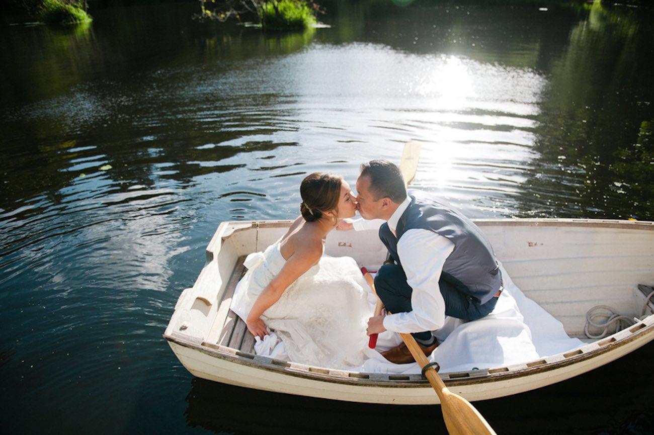 Blush Gold White Outdoor Seattle Wedding 5