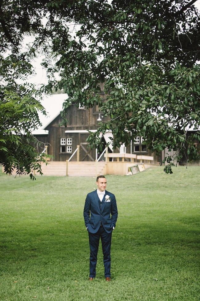 Blush Indiana Barn Wedding 15