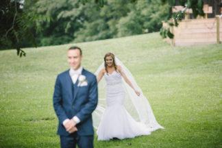 Blush Indiana Barn Wedding 16