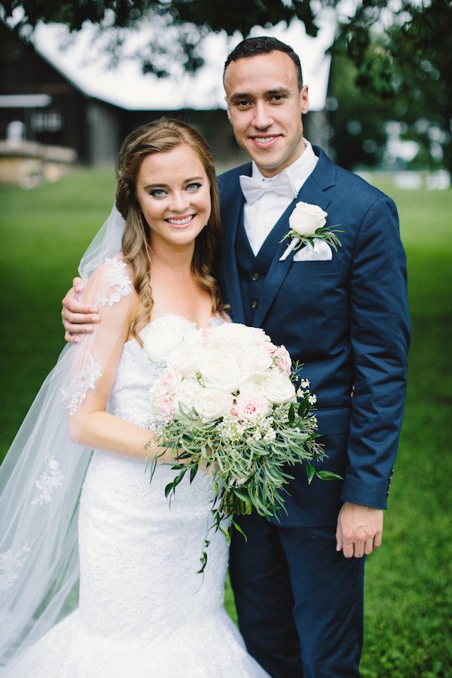 Blush Indiana Barn Wedding 21