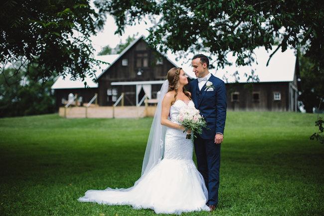 Blush Indiana Barn Wedding 22