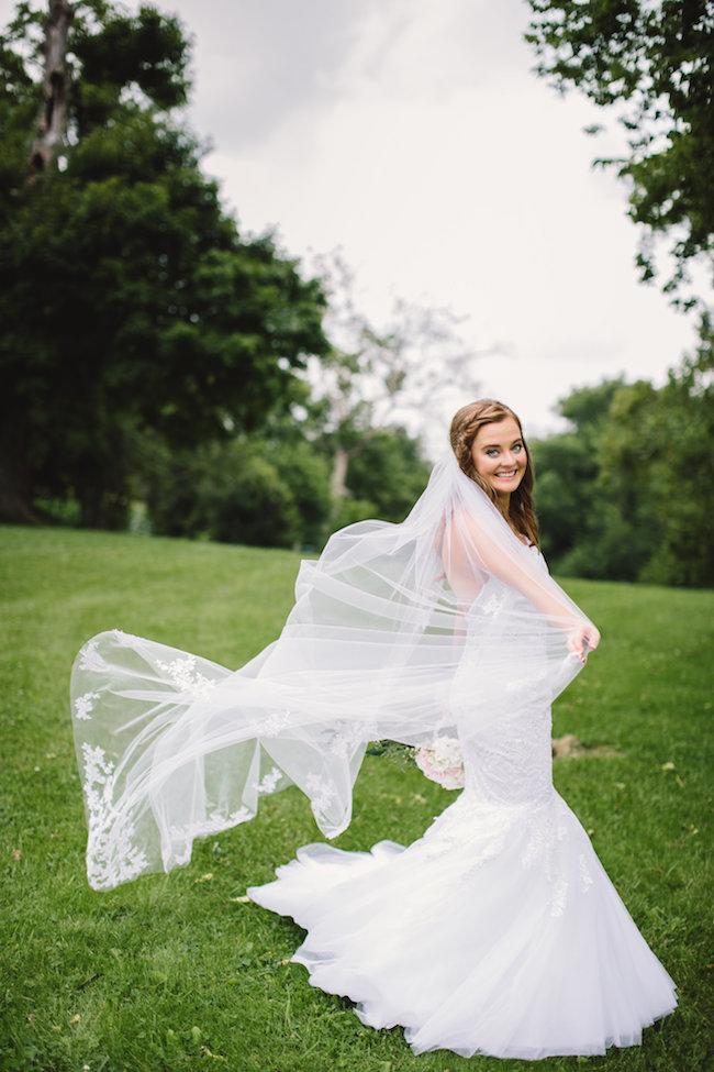 Blush Indiana Barn Wedding 27