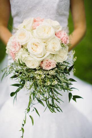 Blush Indiana Barn Wedding 28
