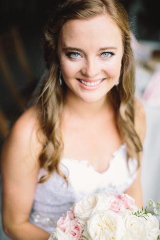 Blush Indiana Barn Wedding 29