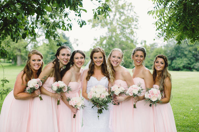Blush Indiana Barn Wedding 33