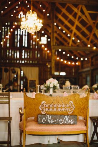 Blush Indiana Barn Wedding 41