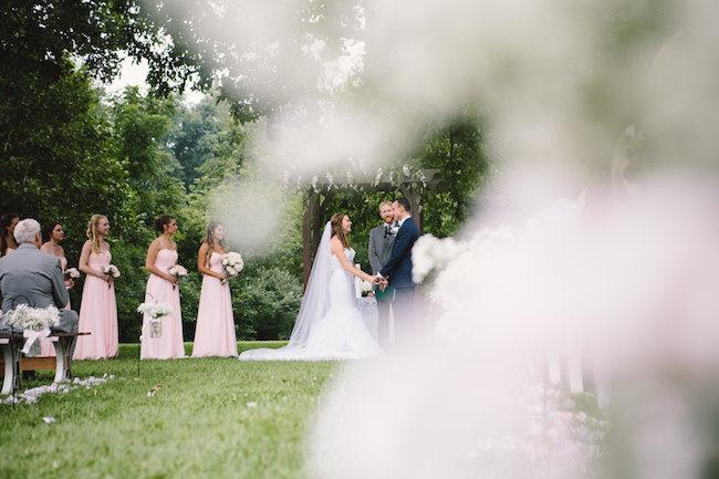 Blush Indiana Barn Wedding 46