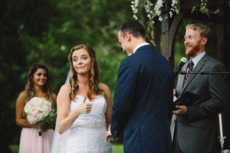 Blush Indiana Barn Wedding 50
