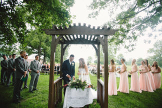 Blush Indiana Barn Wedding 51