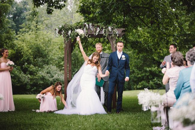Blush Indiana Barn Wedding 54
