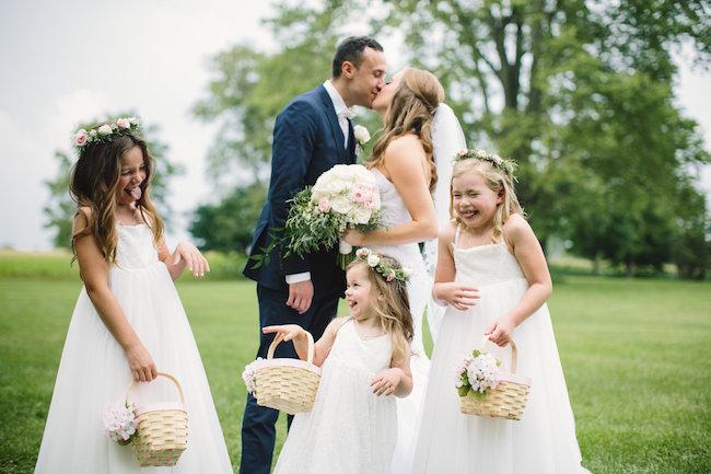 Blush Indiana Barn Wedding 57