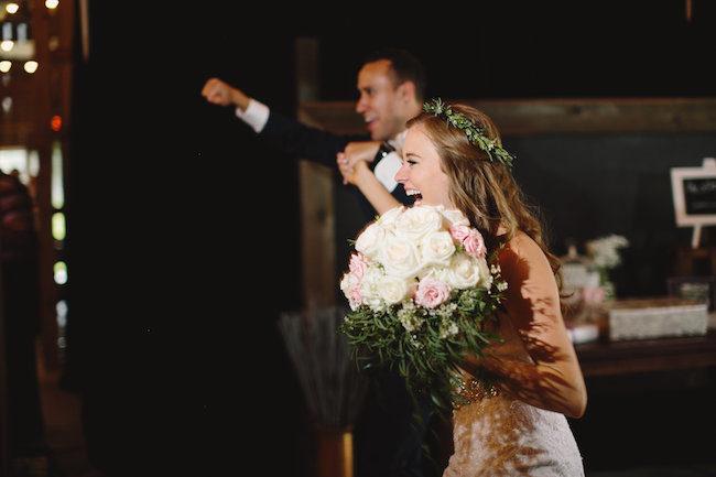 Blush Indiana Barn Wedding 67