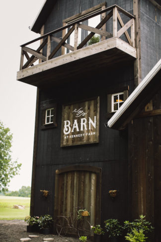 Blush Indiana Barn Wedding 7