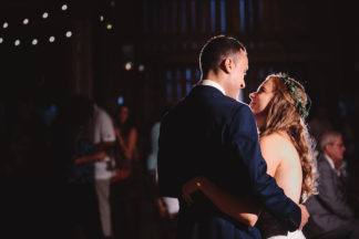 Blush Indiana Barn Wedding 71