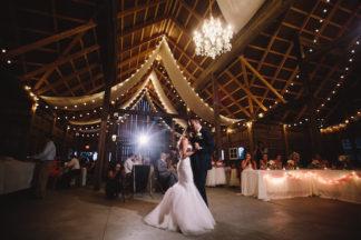 Blush Indiana Barn Wedding 73
