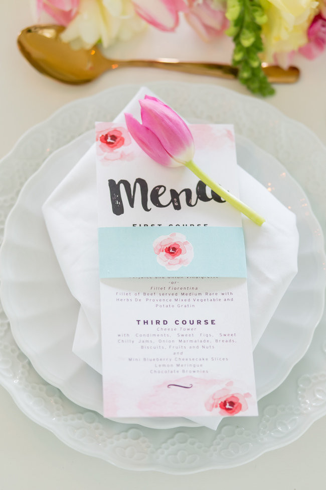 Blush Watercolor Wedding Ideas - Adele Kloppers Photography