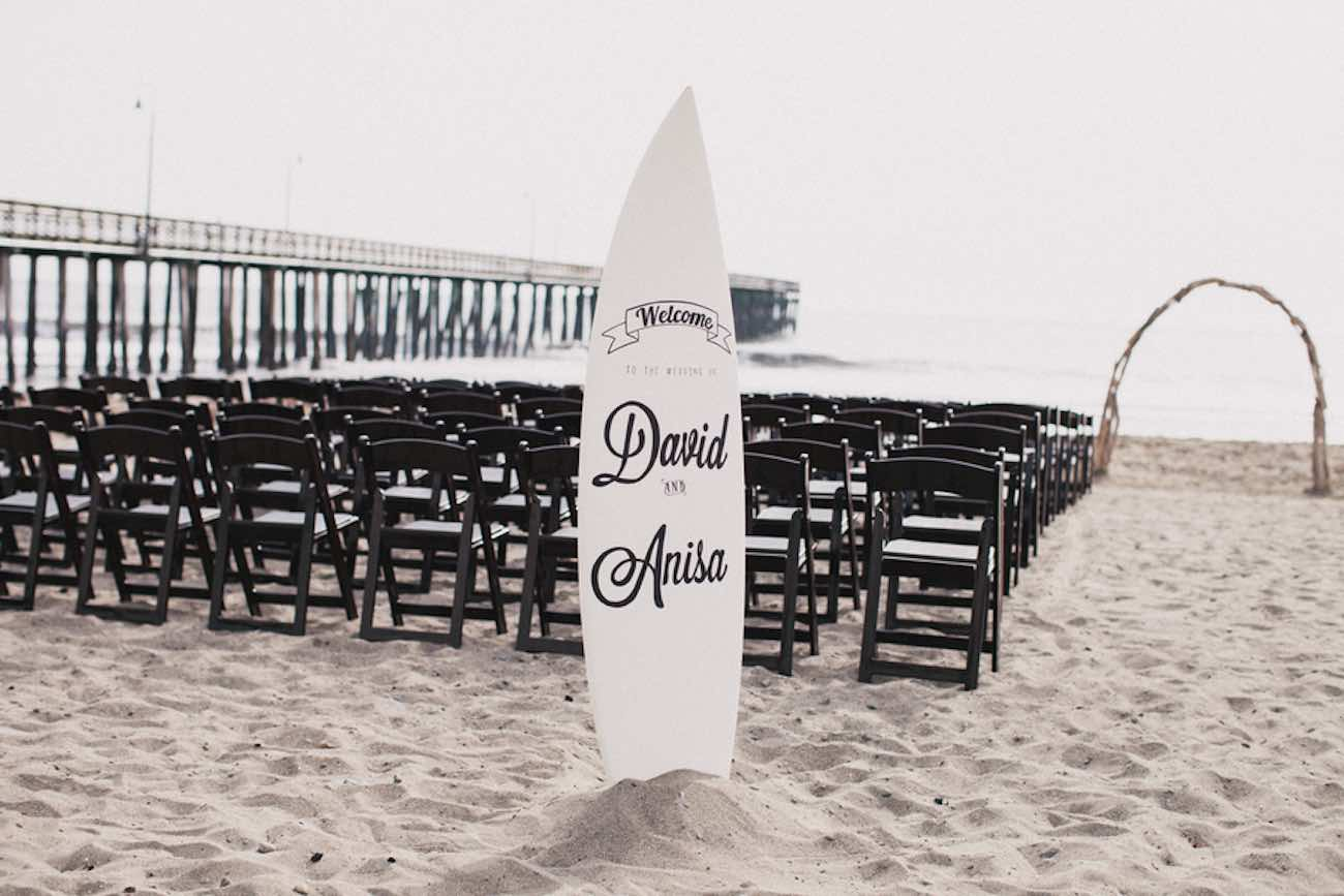 Bohemian Surf Fiesta Beach Wedding   Alexandra Wallace Photography