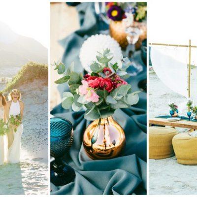 Laid Back + Lovely: Boho Beach Wedding Ideas {Muse Concepts + Garreth Barclay Photography}