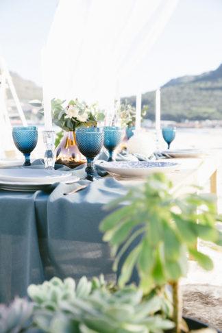 Boho beach wedding