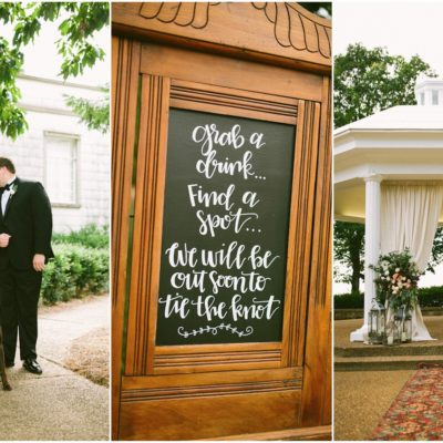 Elegant Romance: Burritt on the Mountain Wedding {Jett Walker Photography}