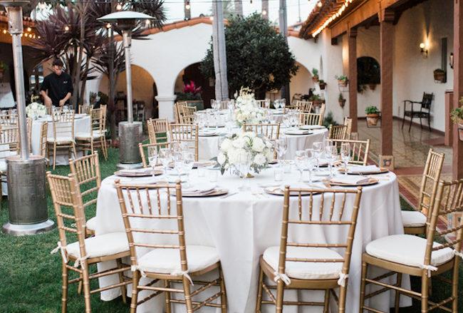Elegant Outdoor Casa Romantica Wedding {Heather Anderson Photography}