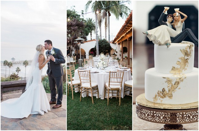 Elegant Outdoor Casa Romantica Wedding {Heather Anderson Photography}