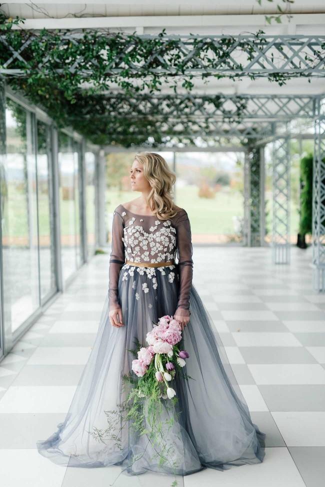 Cascading Wedding Bouquet 1