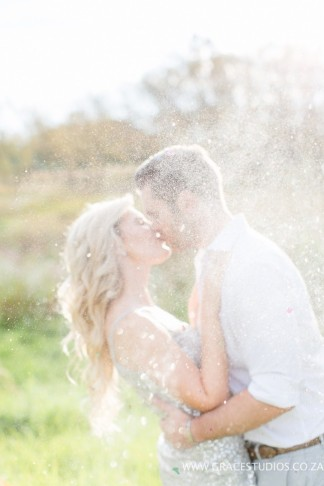 Champagne Engagement Photo Ideas - Grace Studios Photography